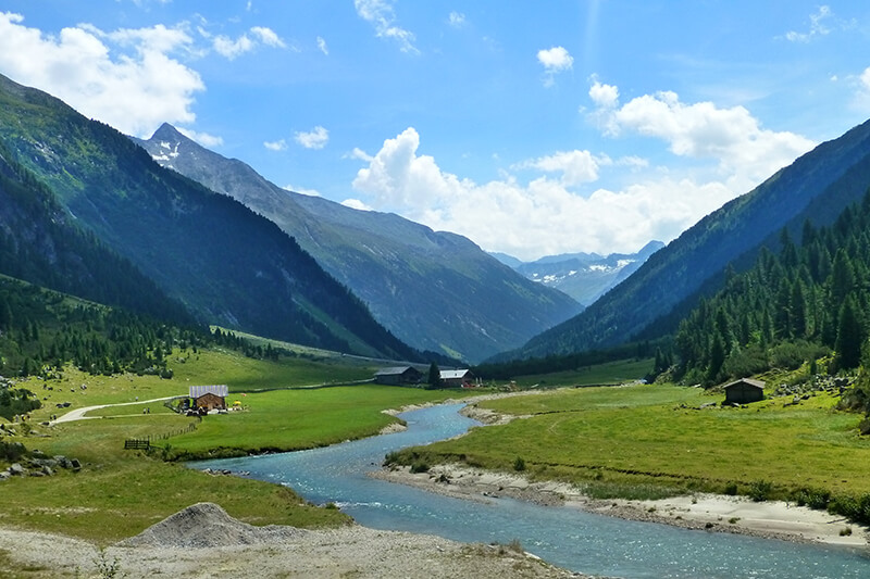 планински преходи в чужбина