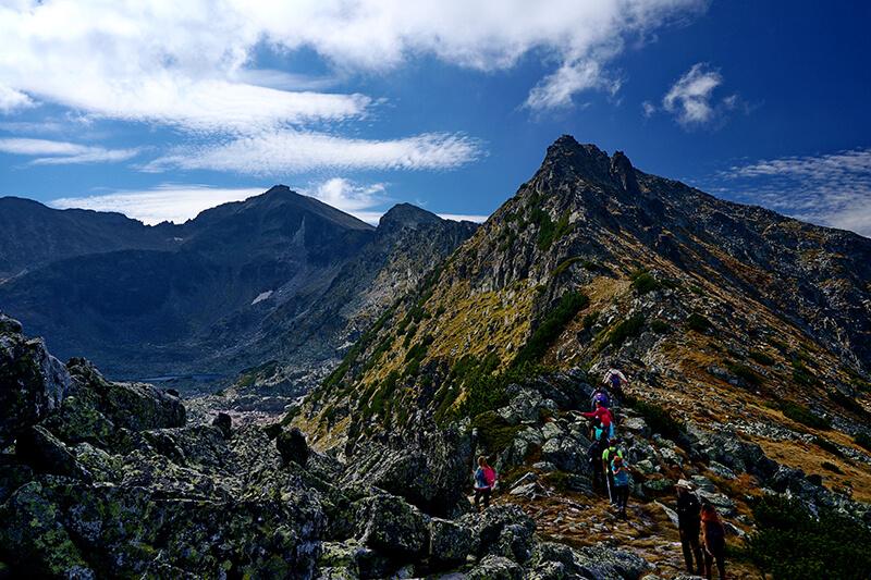 планински преходи до най-високите върхове