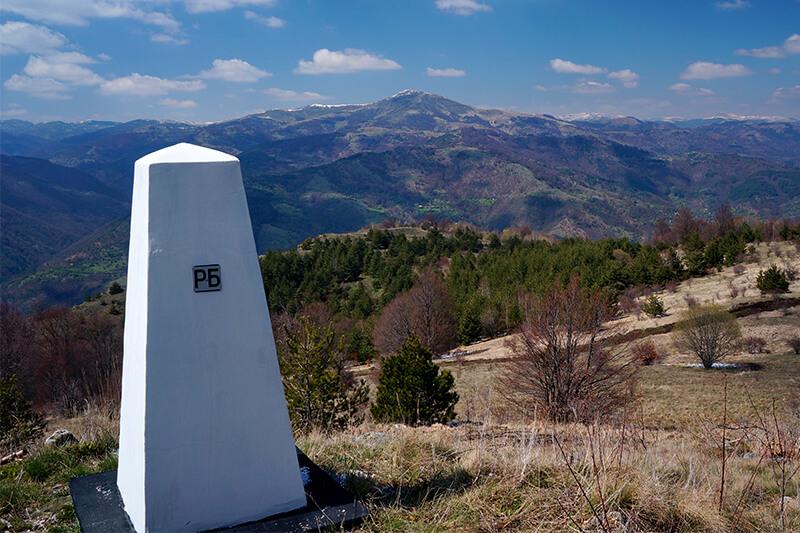планински преходи от поредицата по границата