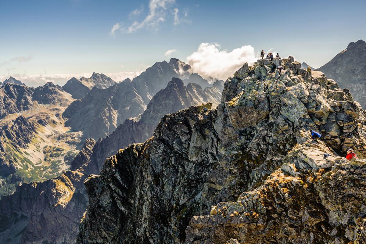 планински преход полски татри