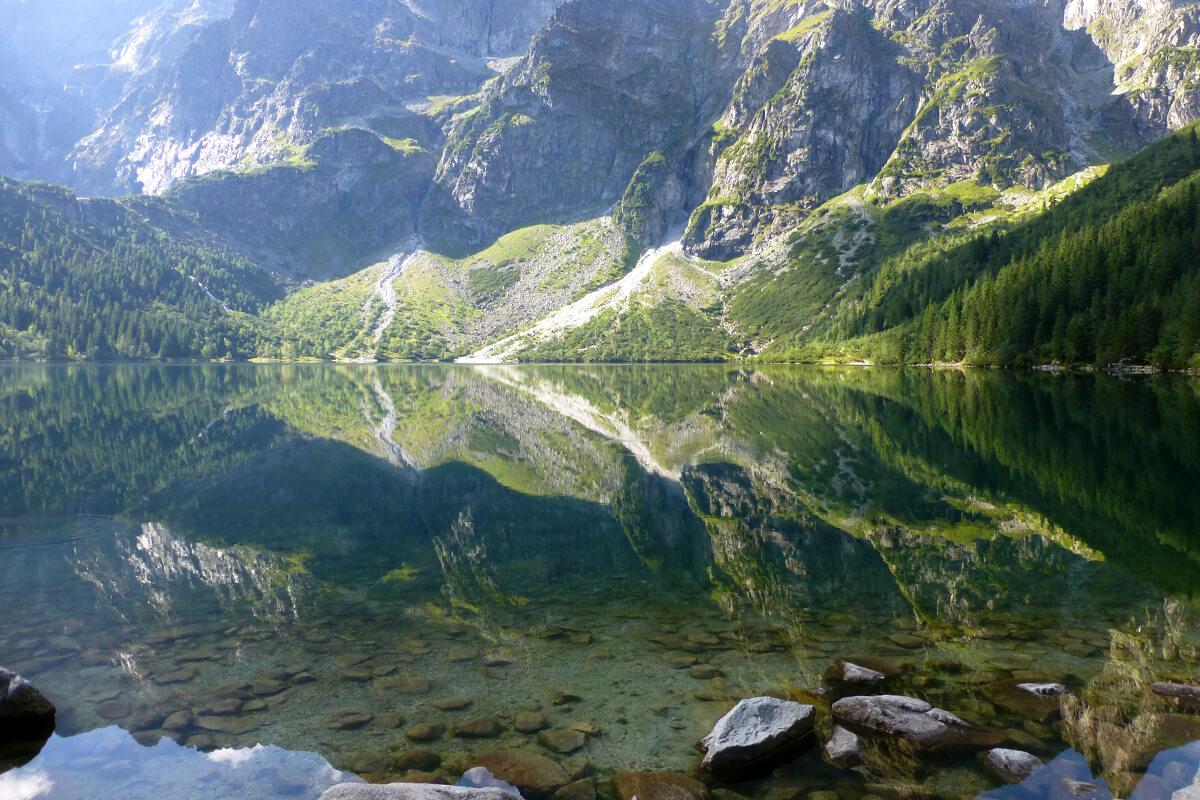 много трудни планински преходи