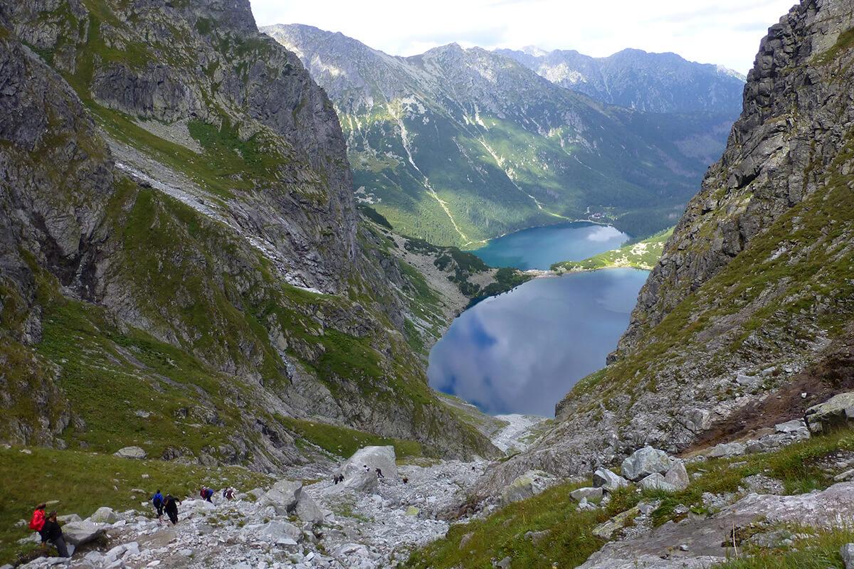 планински преходи в татри